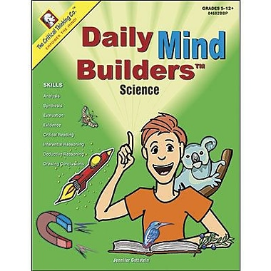 Critical Thinking Press™ Daily Mind Builders Book, 5th - 12th+