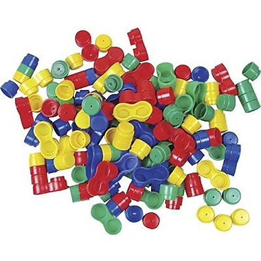 Learning Advantage™ Round Stacking Bricks Manipulatives Set, 108 Pieces/Set
