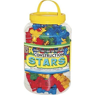 Learning Advantage™ Construction Stars Manipulatives Set, 36 Pieces/Set