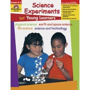 Evan-Moor® Science Experiments Book For Young Learners, Grades Kindergarten - 2nd