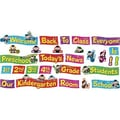 Trend Enterprises® Monkey Mischief® Mini Bulletin Board Set, Welcome Phrases