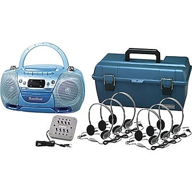 Hamilton Buhl Val-U-Pak USB, MP3, CD Listening Center With 6 Personal Headphones