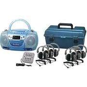 Hamilton Buhl 6 Person USB CD and Cassette Listening Center