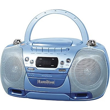 Hamilton Buhl™ USB, MP3, CD, Cassette and AM/FM Radio Boom Box