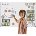 Learning Resources® Double-Sided Magnetic Money Set, 45/Set