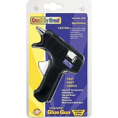 Chenille Craft® Low-Temp Mini Glue Gun, Black