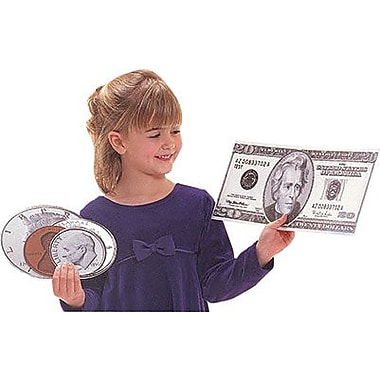 Teech-Um® Colossal Coins With Two-Sided Decorations, Money