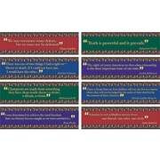 Edupress® Mini Bulletin Board Set, Black American Quotes