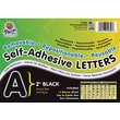 Pacon® Self-Adhesive Letter, Black, 2in.
