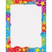 "Trend Enterprises® 11"" x 8 1/2"" Terrific Paper, Stars N Swirl"