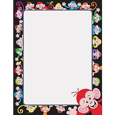 Trend Enterprises® 11in. x 8 1/2in. Terrific Paper, Color Monkeys