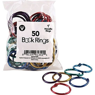 Hygloss® Book Ring Pack, 1in.