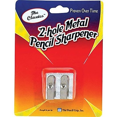 Pencil Grip™ Pencil Sharpener, Metal 2-Hole