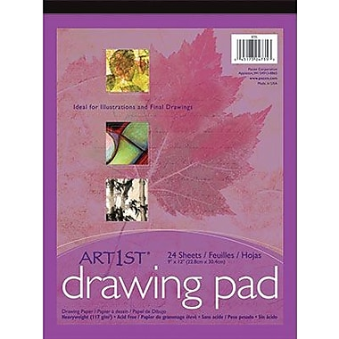 Pacon® Art1st® White Drawing Paper Pad, 18in. x 12in.