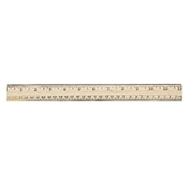 Westcott® English and Metric School Ruler, 12in.(L)