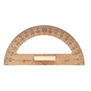 Acme® Chalkboard Drawing Instrument Protractor