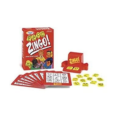 Think Fun® Bingo Game, Zingo!