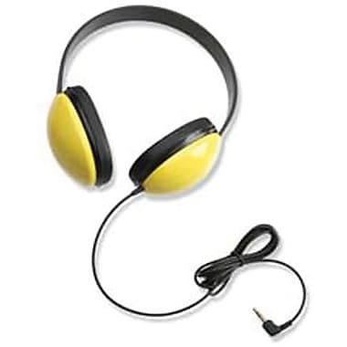 Califone® Listening First™ Stereo Headphone, Yellow