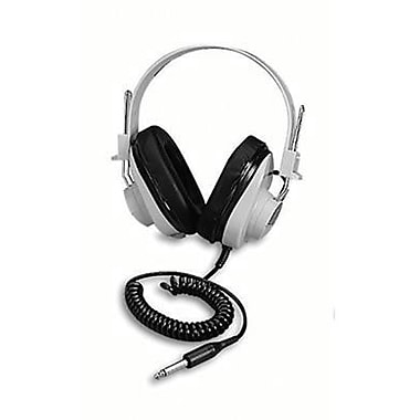 Califone® Deluxe Monaural and Stereo Headphone With Fixed Coil Cord