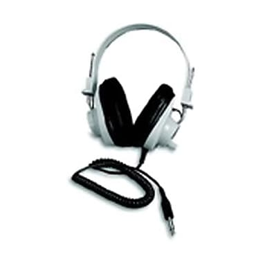 Califone® Deluxe Monaural and Stereo Headphone With Volume Control