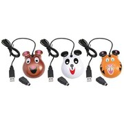 Califone® Animal-Themed Bear Motif Computer Mice
