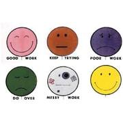 Center Enterprises® Grading Stamp, Smile Balloons