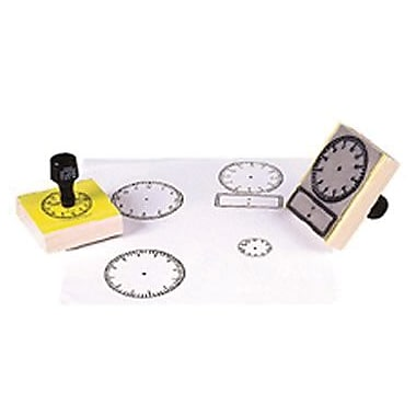 Center Enterprises® Stamp, Large Clock With Numbers
