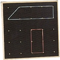 Center Enterprises® Wooden Geoboard, 15/Set