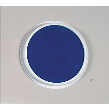 Center Enterprises® 6in. Jumbo Circular Washable Paint/Ink Pad, Blue