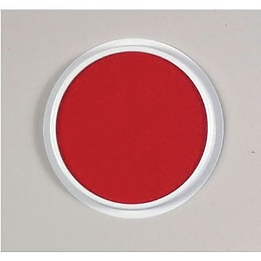 Center Enterprises® 6in. Jumbo Circular Washable Paint/Ink Pad, Red