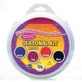 Center Enterprises® 6in. Circular Washable Paint/Ink Pad, Seasonal Kit