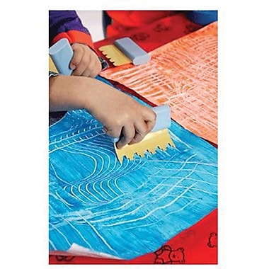 Center Enterprises Ready2Learn Paint and Sand Art Scraper, 6/Pack (CE-6657)
