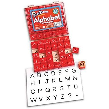 Center Enterprises® Stampers, Manuscript Alphabet Uppercase