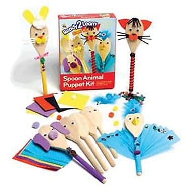 Center Enterprises® Ready2Learn Craft Kit, Wood Spoon Animal Puppet