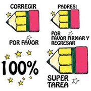 Center Enterprises® Stamper Kit, Spanish Take Note