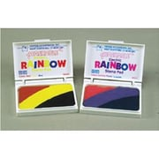 Center Enterprises® Rainbow Primary Washable Stamp Pad, Assorted