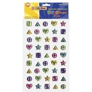 Chenille Craft® Peel and Stick Gemstones - Shapes, 45 Pieces