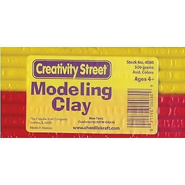 Chenille Craft® Extruded Modeling Clay, 6 Assorted Colors