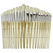 Chenille Craft® Wood Handled Brush Set, 24/Pack