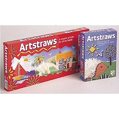 Chenille Craft® Artstraws Starter Kits, 300 Long Straws