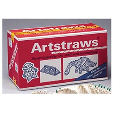 Chenille Craft® Artstraws Classpack, White