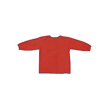 Chenille Craft® Long Sleeve Art Smock, Red