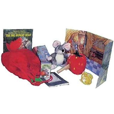 Childs Play® The Big Hungry Bear Storysack Book and CD By Audrey Wood and Don Wood, Grades P-1st