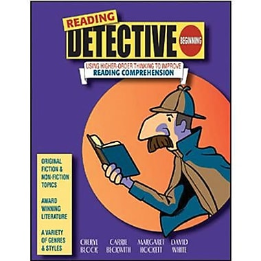 Critical Thinking Press™ Reading Detective Beginning Book, Grades 3rd - 4th