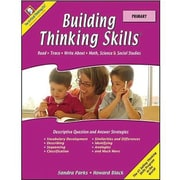 Critical Thinking Press Primary Building Thinking Skills Book, Grades Kindergarten - 1st