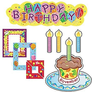 Creative Teaching Press™ Mini Bulletin Board Set, Birthdays