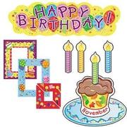 Creative Teaching Press Mini Bulletin Board Set, Birthdays