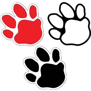 Creative Teaching Press™ 6in. Designer Cut-Outs, Paw Prints