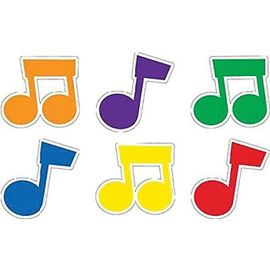 Creative Teaching Press™ 6in. Designer Cut-Outs, Music Notes