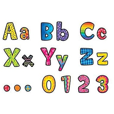 Creative Teaching Press™ Designer Letter, Poppin Patterns®, 4in.
